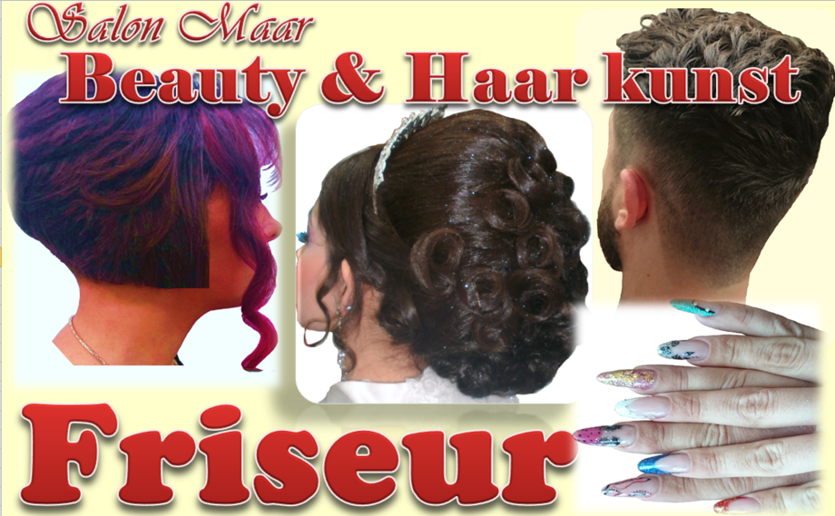 Beauty Haar Kunst Friseur Nageldesign Kosmetik Fußpflege